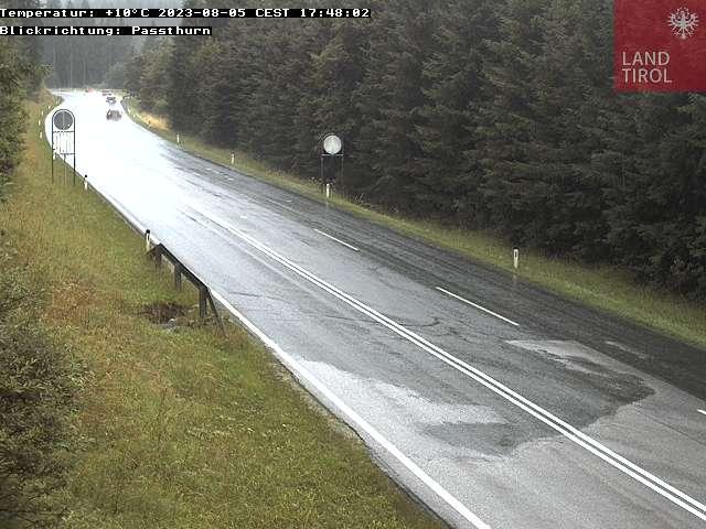 WEBkamera Pass Thurn - dopravní kamera směr Pass Thurn