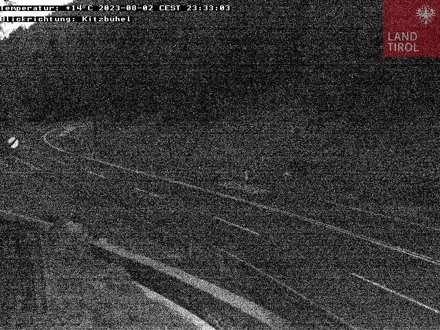 WEBkamera Pass Thurn - dopravní kamera směr Kitzbühel