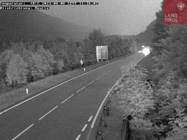Webcam Musau Süden Fernpass B 179
