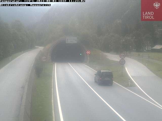 Webcam Nassereith - Rastland Richtung Nassereith