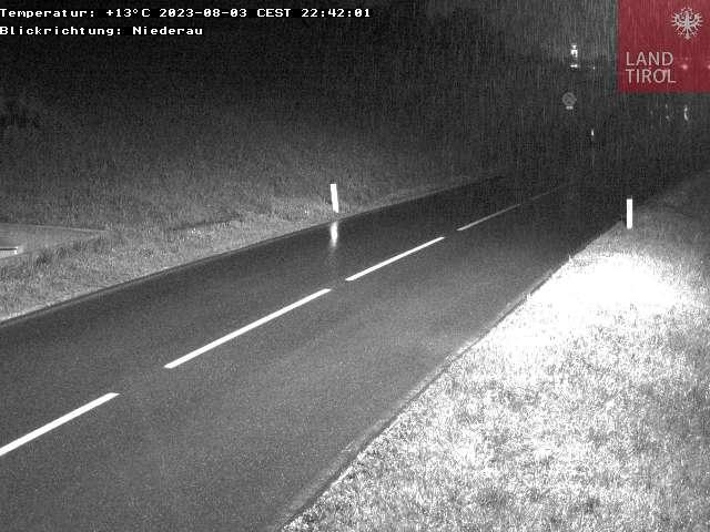L 3 Wildschönauer Straße-Blickrichtung Oberau