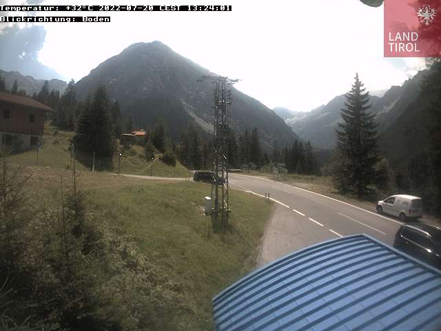 Webcams Hahntennjoch